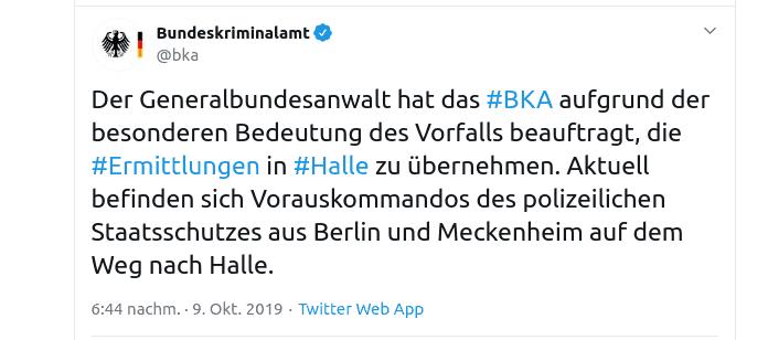 Tweet BKA